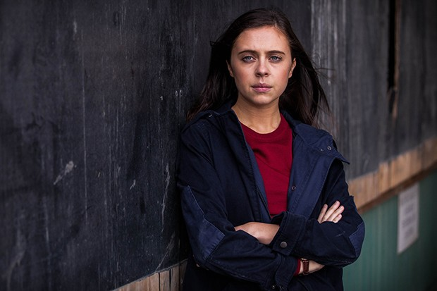 Bel Powley plays DC Holly Morten in Informer