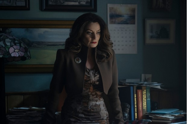 Michelle Gomez in Chilling Adventures of Sabrina