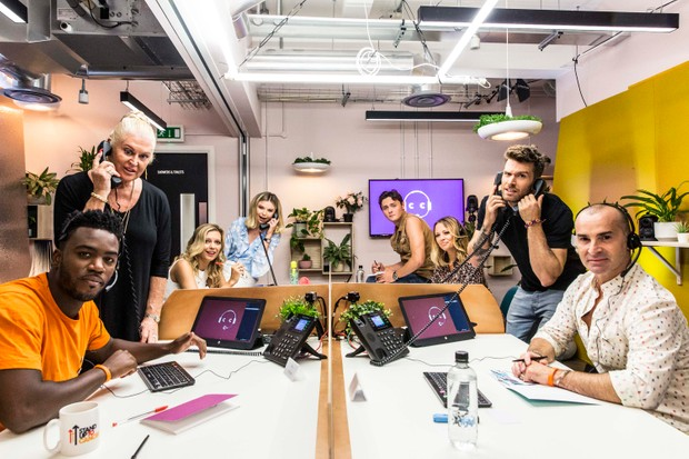 Celebrity Call Centre (Channel 4, KB)