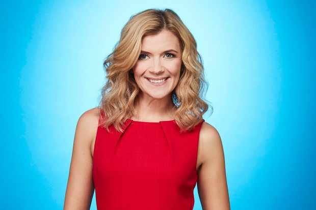 Dancing on Ice Jane Danson