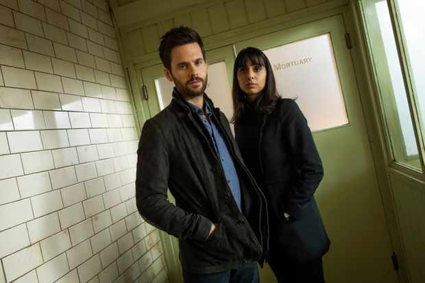 From ITV Studios  Dark Heart  EPISODE 1  Pictured: ANJLI MOHINDRA as Chancellor and TOM RILEY as Will Wagstaffe.  Photographer:LAURENCE CENDROWICZ  This photograph must not be syndicated to any other company, publication or website, or permanently archived, without the express written permission of ITV Picture Desk. Full Terms and conditions are available on  www.itv.com/presscentre/itvpictures/terms   For further information please contact: Patrick.smith@itv.com 0207 1573044