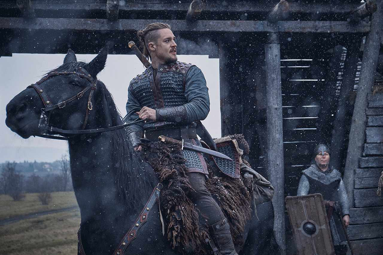 Alexander Dreymon as Uhtred in The Last Kingdom season three (Netflix)