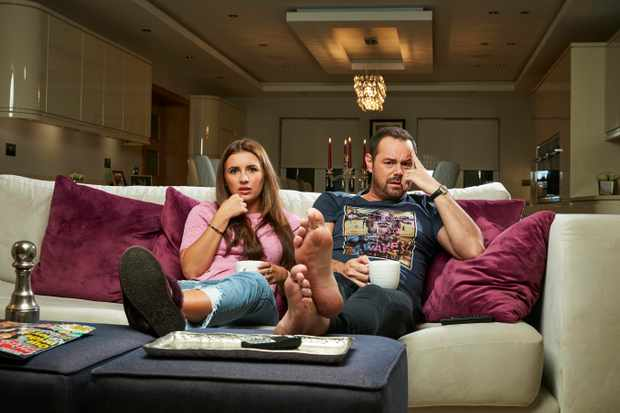 Dani Dyer and Danny Dyer