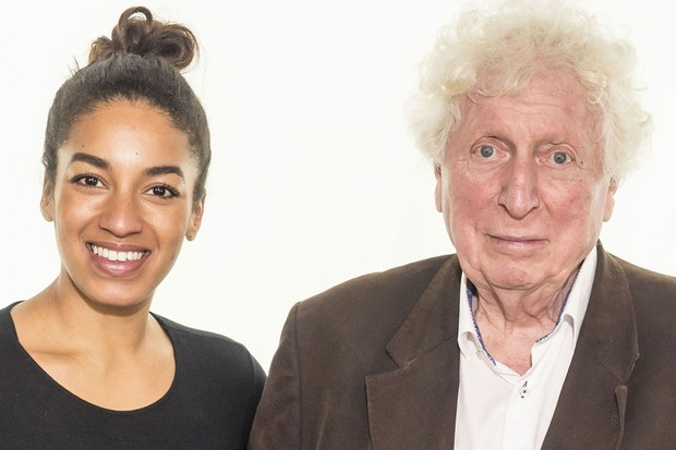 Rhianne Starbuck will play Sharon opposite Tom Baker (Big Finish)