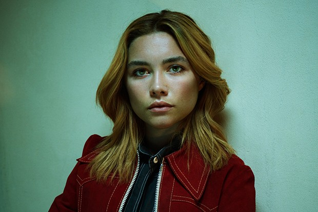 Florence Pugh plays Charlie in The Little Drummer Girl
