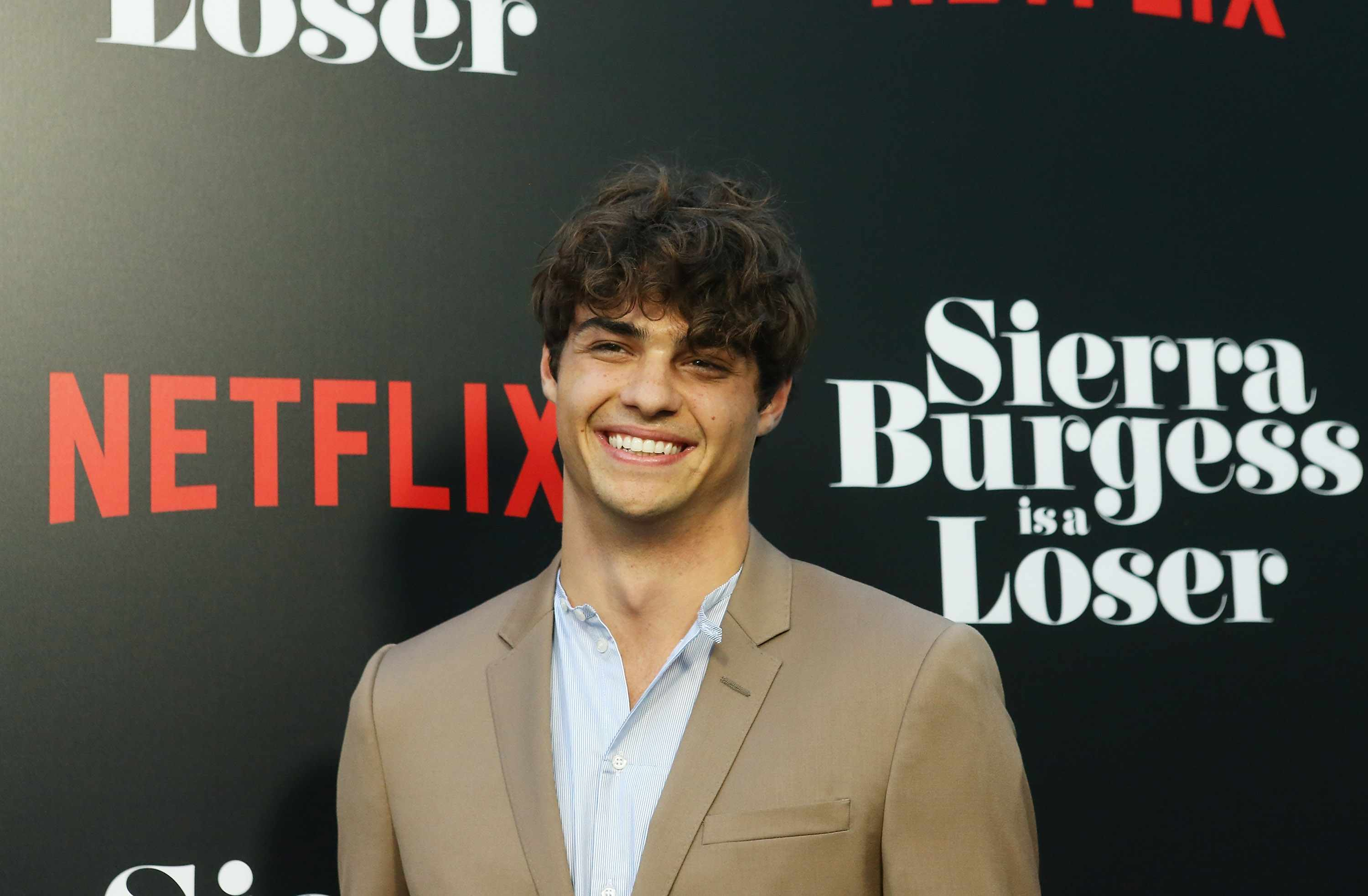"""HOLLYWOOD, CA - AUGUST 30:  Noah Centineo arrives to the Los Angeles premiere of Netflix's """"Sierra Burgess Is A Loser"""" held at ArcLight Hollywood on August 30, 2018 in Hollywood, California.  (Photo by Michael Tran/FilmMagic)"""