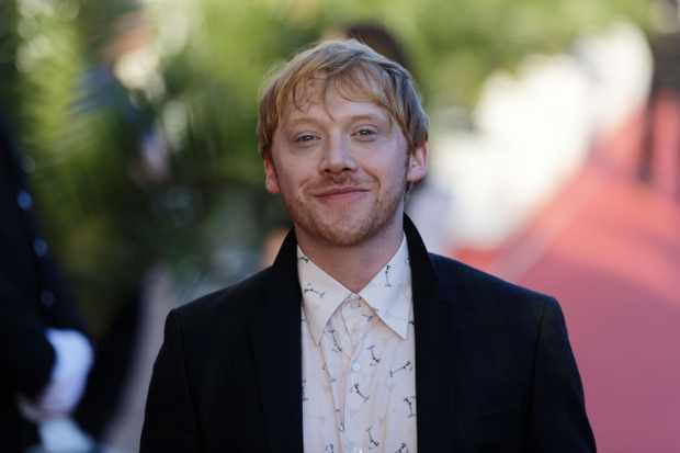 DINARD, FRANCE - SEPTEMBER 27:  Rupert Grint attends red carpet of Dinard Film festival opening ceremony on September 27, 2018 in Dinard, France.  (Photo by Sylvain Lefevre/Getty Images)