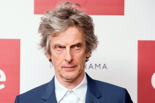 LONDON, ENGLAND - APRIL 04: Peter Capaldi attends a photocall before the screening of the first episode of Series 10 of Doctor Who at the Ham Yard Hotel on April 4, 2017 in London, United Kingdom. (Photo by Jeff Spicer/Getty Images)