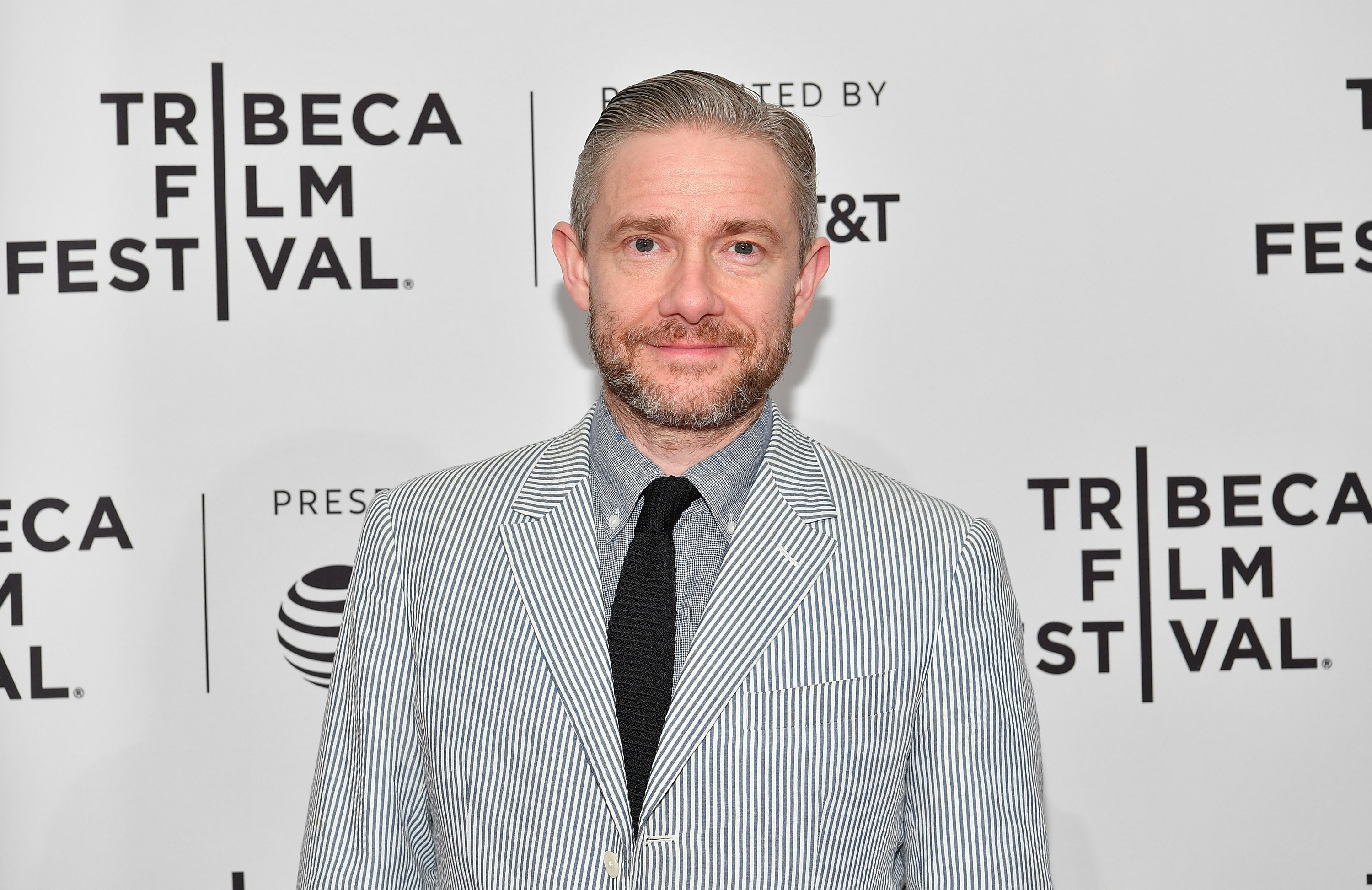 "NEW YORK, NY - APRIL 19:  Martin Freeman attends a screening of ""Cargo"" during the 2018 Tribeca Film Festival at SVA Theatre on April 19, 2018 in New York City.  (Photo by Dia Dipasupil/Getty Images for Tribeca Film Festival)"