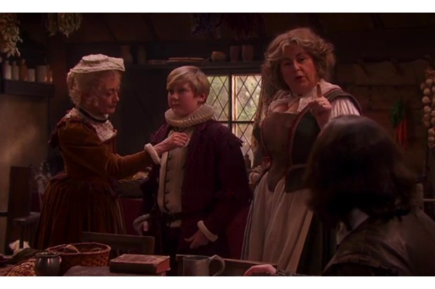 Upstart Crow screen grab, BD