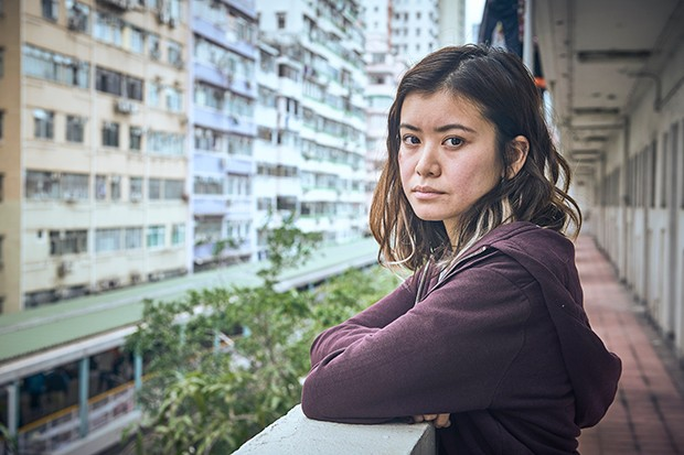 Katie Leung as Lau in Strangers