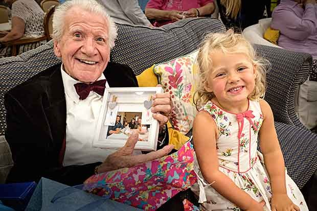 Lily and Ken in Old People's Home for Four-Year-Olds, Channel 4 Press via RT Pics