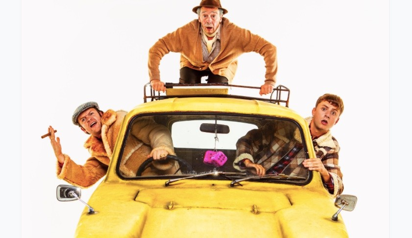 Only fools and horses musical publicity still, BD
