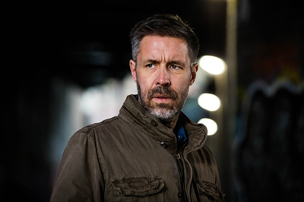 Paddy Considine plays DS Gabe Waters in Informer