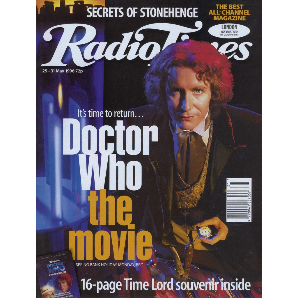RT McGann May 1996 cover