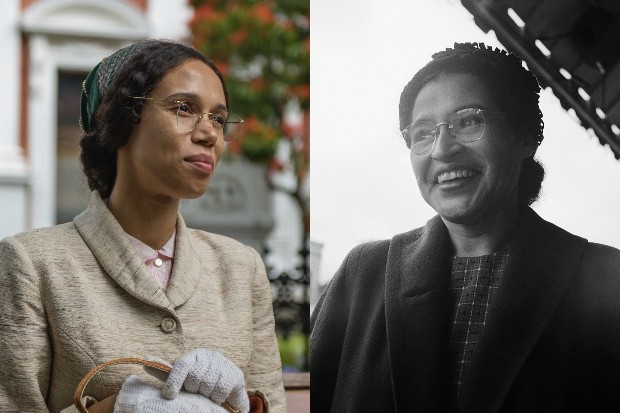Vinette Robinson and the real Rosa Parks