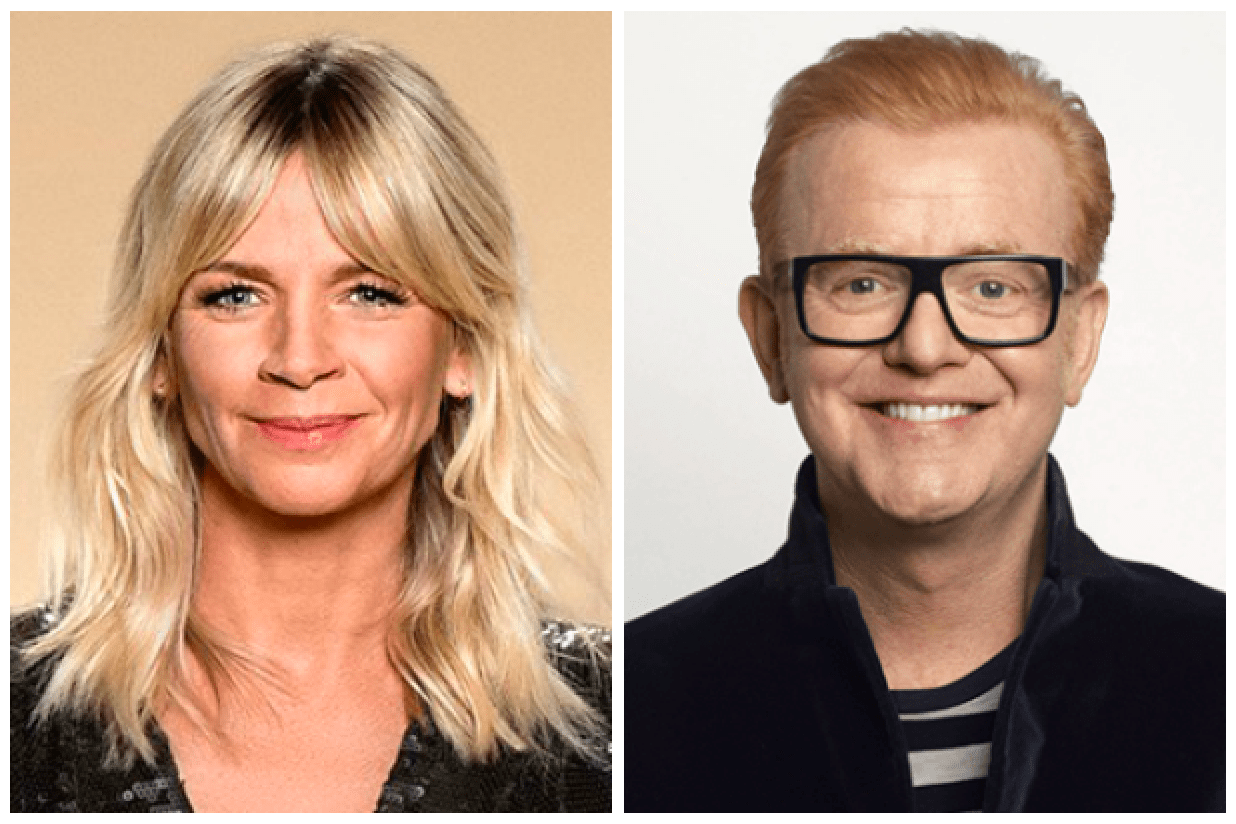Zoe Ball, Chris Evans (BBC, EH)