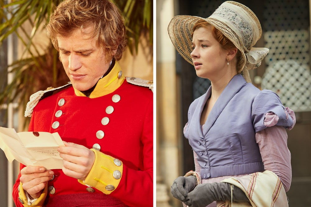 Dobbin and Amelia, Vanity Fair (ITV)