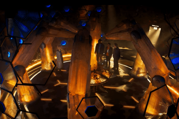 The centre of the new Doctor Who Tardis design (BBC)