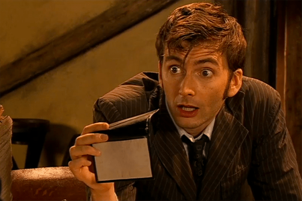 David Tennant as the Tenth Doctor in The Shakespeare Code (2007, BBC)