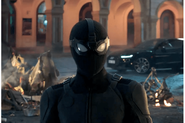 "The ""stealth suit"" from Spider-Man: Far From Home (Marvel)"