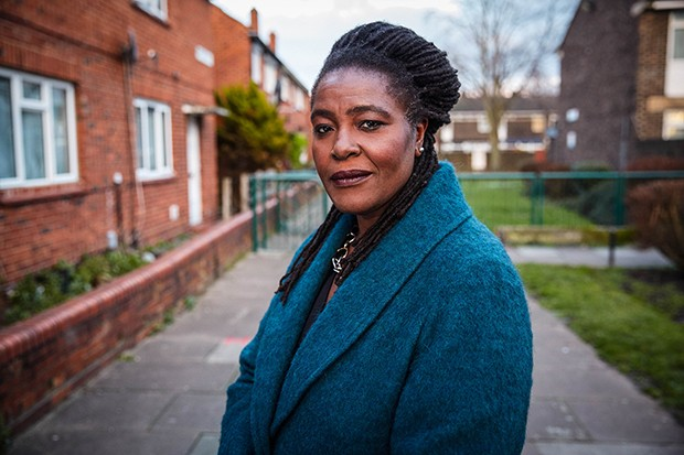 Sharon D Clarke plays DCI Rose Asante in Informer