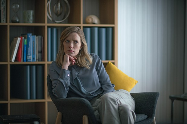 Shauna MacDonald plays Dr Wallace in The Cry