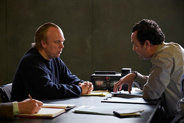 L-R Tony Martin (Steve Pemberton) and DC Peters (Danny Mays).