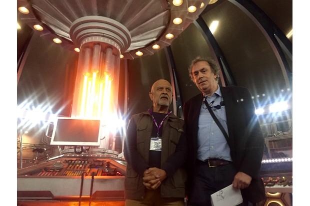 Waris Hussein and Michael Pickwoad, 2015