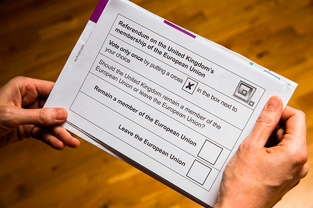 Brexit ballot, Getty