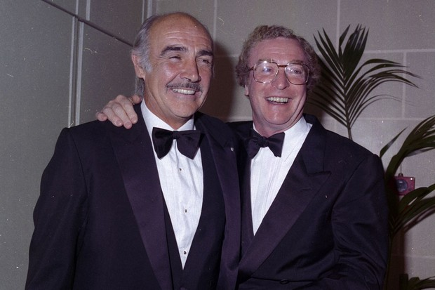 Michael Caine and Sean Connery (Getty)