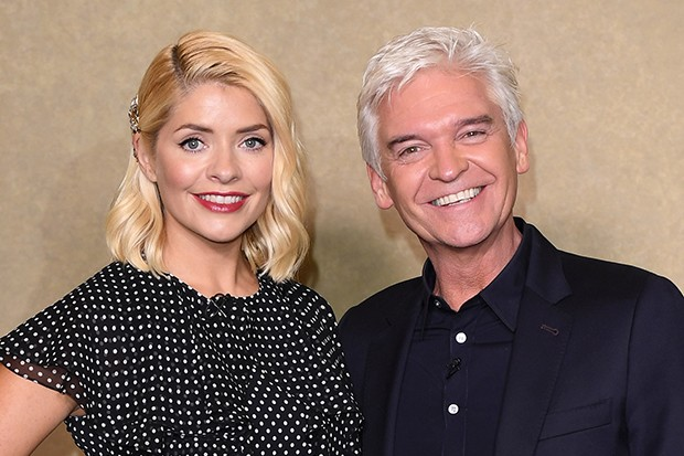 Holly Willoughby and Philip Schofield at Bafta, Getty