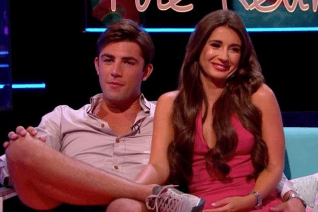 Love Island - Jack and Dani (ITV)