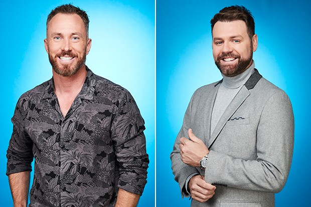 James Jordan and Bryan McFadden in Dancing on Ice, ITV