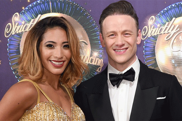 Karen and Kevin Clifton, Getty