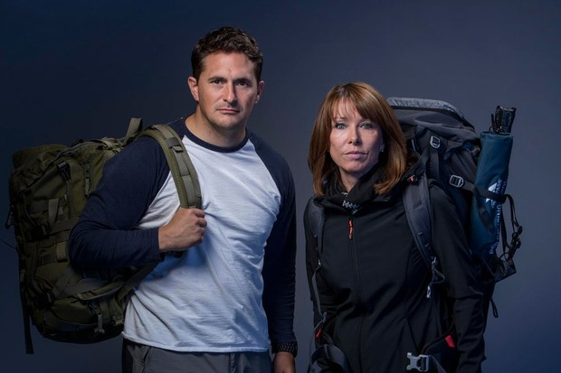 Johnny Mercer and Kay Burley (C4)
