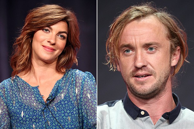 Natalia Tena and Tom Felton, Origin, Getty