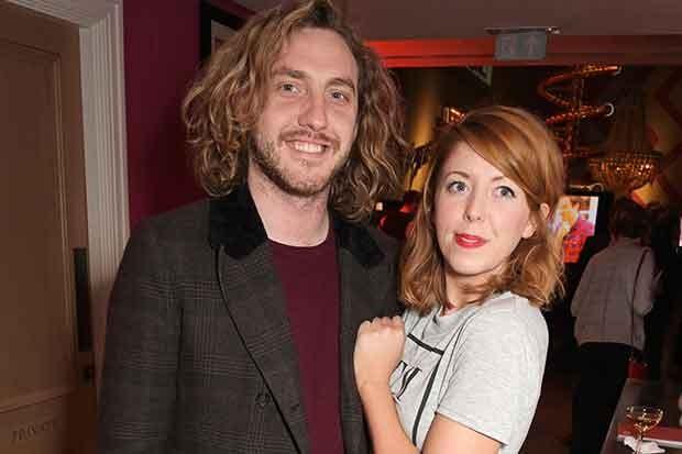 Rebecca Humphries and Seann Walsh, Getty