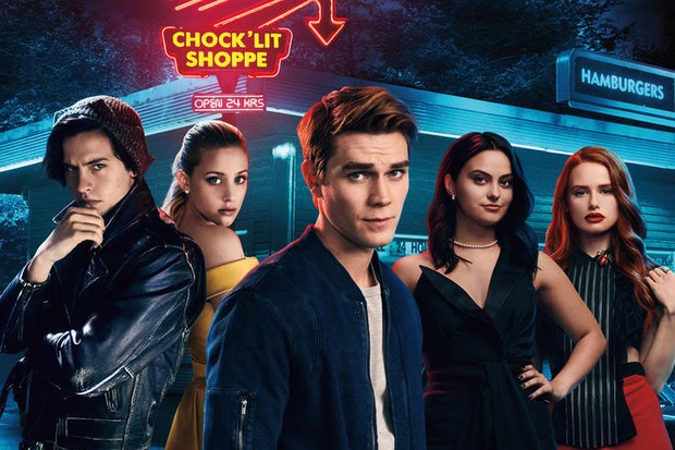 The cast of Riverdale (Netflix)