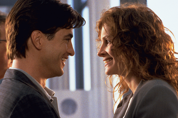 Julia Roberts and Dermot Mulroney in My Best Friend's Wedding, SEAC