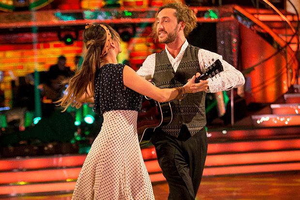 Seann and Katya on Strictly, BBC Pictures