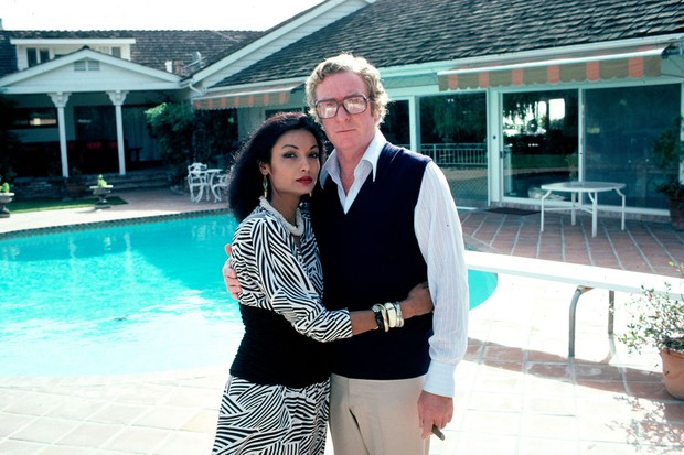 Michael and Shakira Caine (Getty)