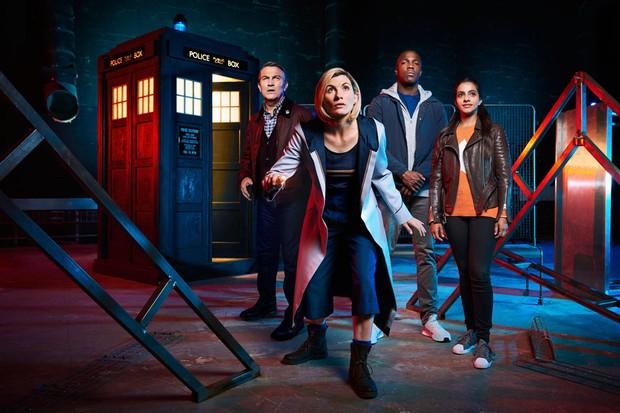 Doctor Who cast (Richard Grassie)