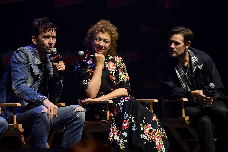 New York Comic Con 2018 David Tennant Alex Kingston Matt Smith