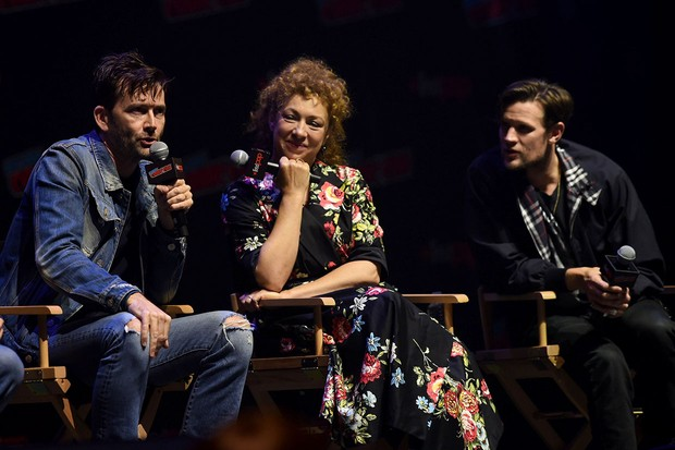 New York Comic Con 2018 David Tennant Alex Kingston Matt Smith