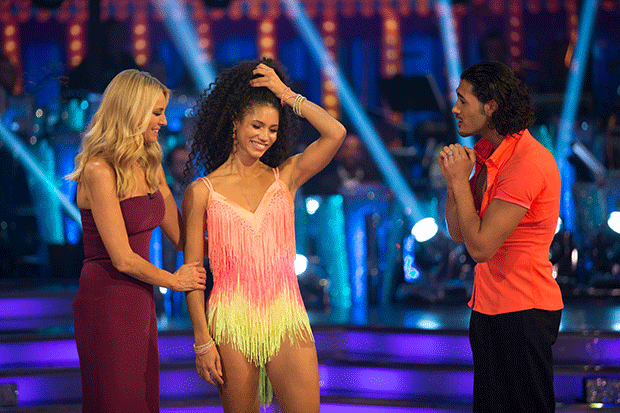 Vick Hope leaves Strictly, BBC Pictures