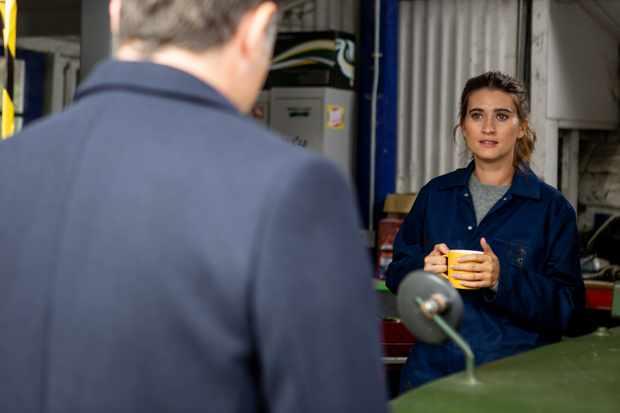 Debbie (Charley Webb) on Emmerdale