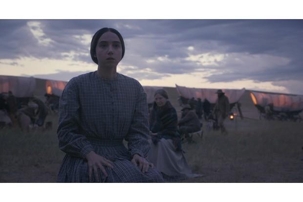 "Zoe Kazan as ""Alice Longabaugh"" in The Ballad of Buster Scruggs, a film by Joel and Ethan Coen."