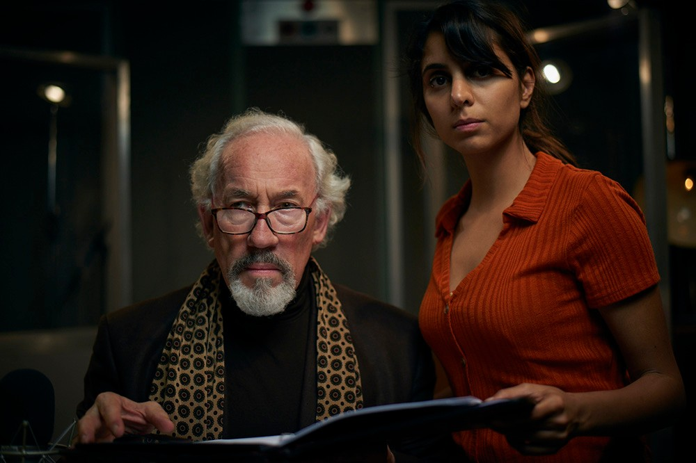 Simon Callow and Anji Mohindra in The Dead Room (BBC)