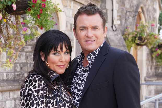 Kat (Jessie Wallace) and Alfie (Shane Richie) on EastEnders